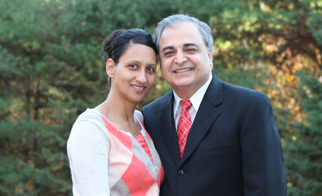 Rev. Mehran Payandeh and Iris Payandeh